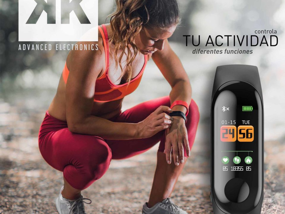 reloj o pulsera de actividad Kuken Advanced Electronics