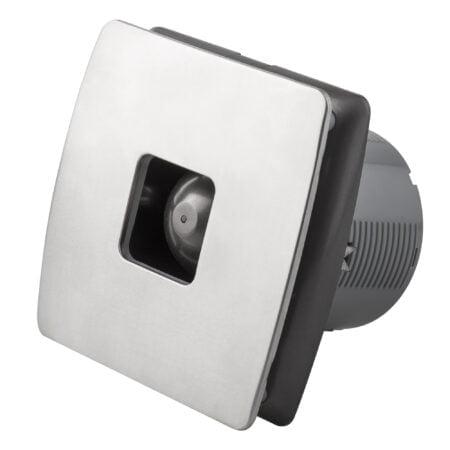 Extractor de aire inox con ventilador oculto