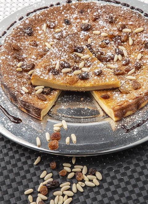 Receta tarta de queso mascarpone